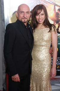 Ben Kingsley and Daniela Lavender at the New York premiere of