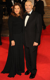 Producer Barbara Broccoli and producer Michael G. Wilson at the Royal world premiere of