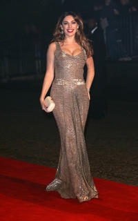 Kelly Brook at the after party of the Royal world premiere of