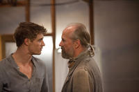 Max Irons and William Hurt in