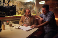Paul Giamatti and director Don Coscarelli on the set of