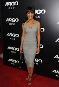 "Shaun Robinson at the California premiere of ""Argo."""