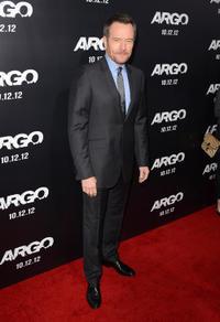 "Bryan Cranston at the California premiere of ""Argo."""