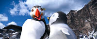 The Mighty Sven voiced by Hank Azaria and Erik voiced by Ava Acres in