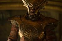 "Idris Elba as Heimdall in ""Thor: The Dark World."""