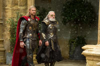 """Chris Hemsworth as Thor and Anthony Hopkins as Odin in """"Thor: The Dark World."""""""