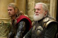 "Chris Hemsworth and Anthony Hopkins in ""Thor: The Dark World."""