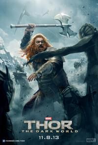 """Poster art for """"Thor: The Dark World."""""""