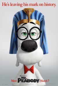"""Poster art for """"Mr. Peabody & Sherman."""""""