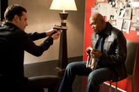 Luke Kirby as Ethan and Samuel L.Jackson as Foley in