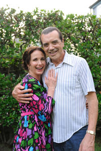 Andie MacDowell as Stella Fine and Chazz Palminteri as Joe Fine in