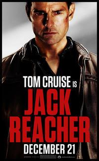 """Poster art for """"Jack Reacher."""""""