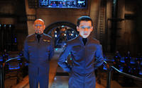 Ben Kingsley and Asa Butterfield in