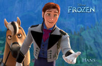 Hans voiced by Santino Fontana in