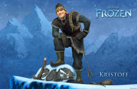 Kristoff Voiced by Jonathan Groff in