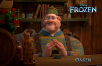 Oaken voiced by Chris Williams in