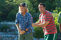 David Spade as Marcus Higgins and Adam Sandler as Lenny Feder in