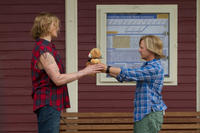 Alexander Ludwig as Braden and David Spade as Marcus Higgins in