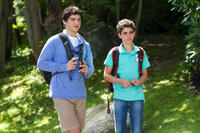 Jake Goldberg as Greg Feder and Cameron Boyce as Keithie Feder in