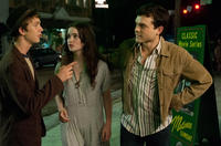 Thomas Mann as Link, Alice Englert as Lena Duchannes and Alden Ehrenreich as Ethan Wate in