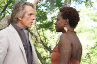 Jeremy Irons as Macon Ravenwood and Viola Davis as Amma in
