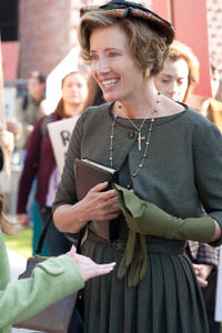 Emma Thompson as Mrs. Lincoln in