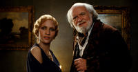 Halle Berry as Jocasta Ayrs and Jim Broadbent as Vyvyan Ayrs in