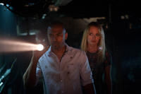 Noel Clarke and Laura Haddock in