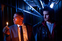Noel Clarke and Colin O'Donoghue in
