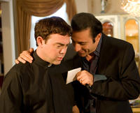 Joe Lo Truglio as Father Jim and Vahik Pirhamzei as Hamo in