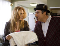 Rachel Blanchard as Michele and Vahik Pirhamzei as Rafael in