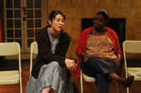 Mary Elizabeth Winstead as Kate Hannah and Octavia Spencer as Jenny in