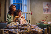Lili Taylor as Carolyn Perron and Joey King as Christine in