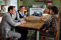 Patrick Wilson as Ed Warren, Vera Farmiga as Lorraine Warren, Lili Taylor as Carolyn Perron and Ron Livingston as Roger Perron in
