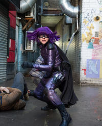 Chloe Grace Moretz as Hit-Girl in