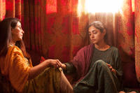 Hassina Burgan and Golshifteh Farahani in