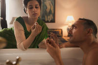 Anita Majumdar and Rahul Bose in
