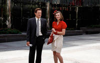Bill Pullman and Milla Jovovich in