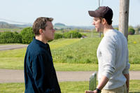 Matt Damon as Steve Butler and John Krasinski as Dustin Noble in