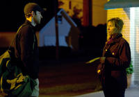 John Krasinski as Dustin Noble and Frances McDormand as Sue Thomason in