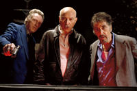 Christopher Walken as Doc, Alan Arkin as Hirsch and Al Pacino as Val in