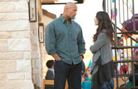 Dwayne Johnson and Nadine Velasquez in