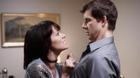 Parker Posey as Susan Felders and Eric Mabius as Pete Cozy in