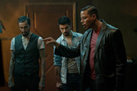 Dominic Cooper and Terrence Howard in