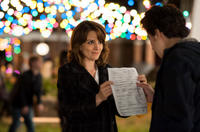 Tina Fey as Portia Nathan and Nat Wolff as Jeremiah in