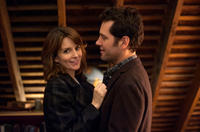 Tina Fey as Portia Nathan and Paul Rudd as John Pressman in