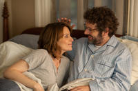 Tina Fey as Portia Nathan and Michael Sheen as Mark in