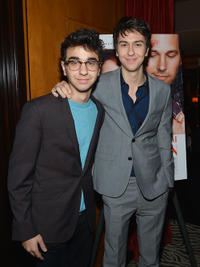 Alex Wolff and Nat Wolff at the after party of the New York premiere of