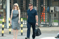 Amy Ryan and Sylvester Stallone in