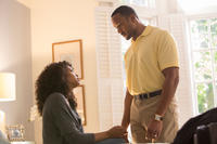 Taraji P. Henson as Terry and Henry Simmons as Jeffrey in